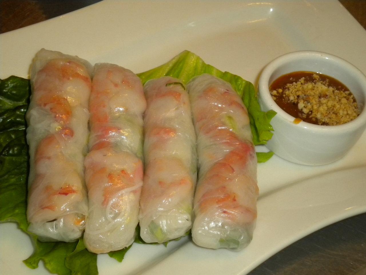 Spring Rolls (Shrimp)