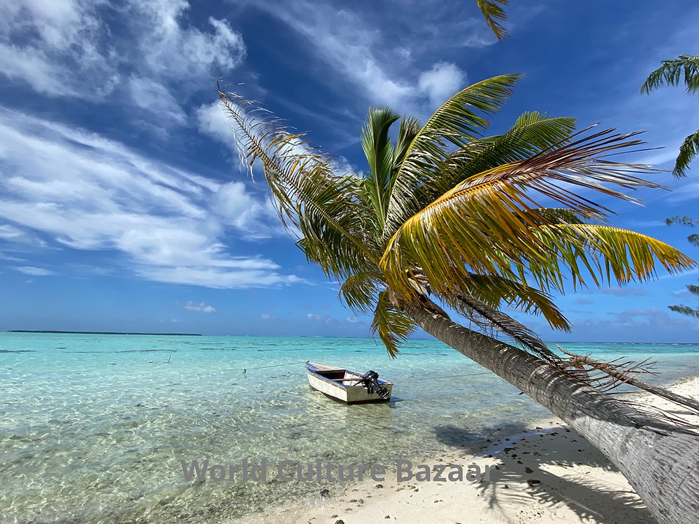 .French Polynesia. Maupiti. Motu Auira
