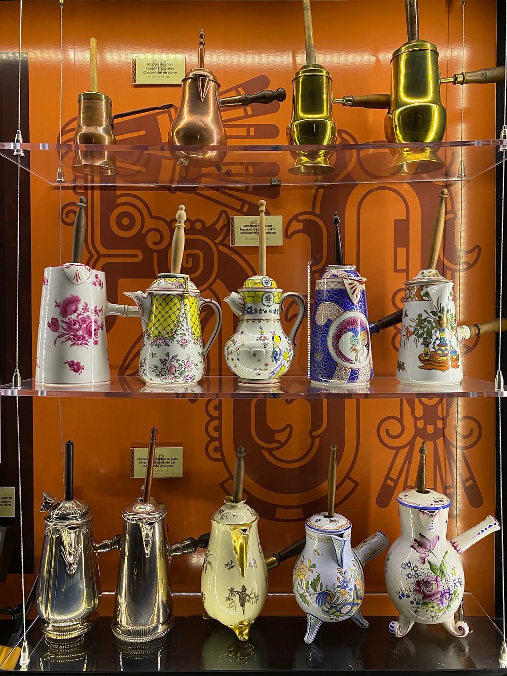 Chocolate history. Mexico. Valladolid Chocolate museum