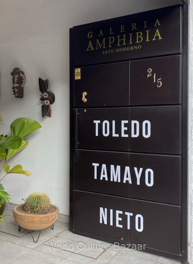 Mexico.Oaxaca.Galeria Amhibia. Toledo.Tamayo.Nieto