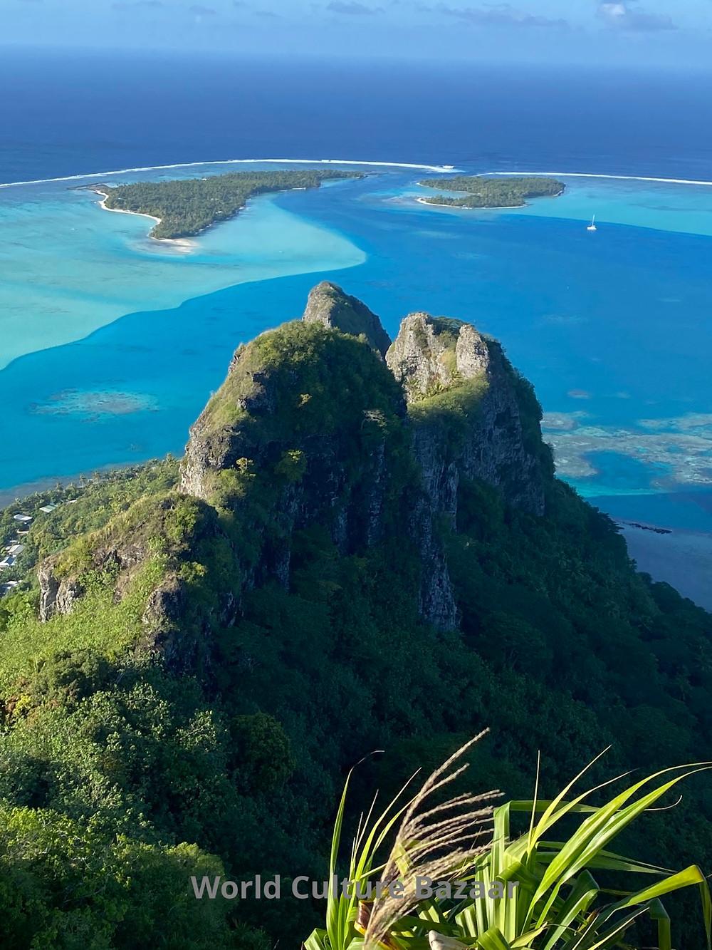French Polynesia. Maupiti. Teuraafaatiu