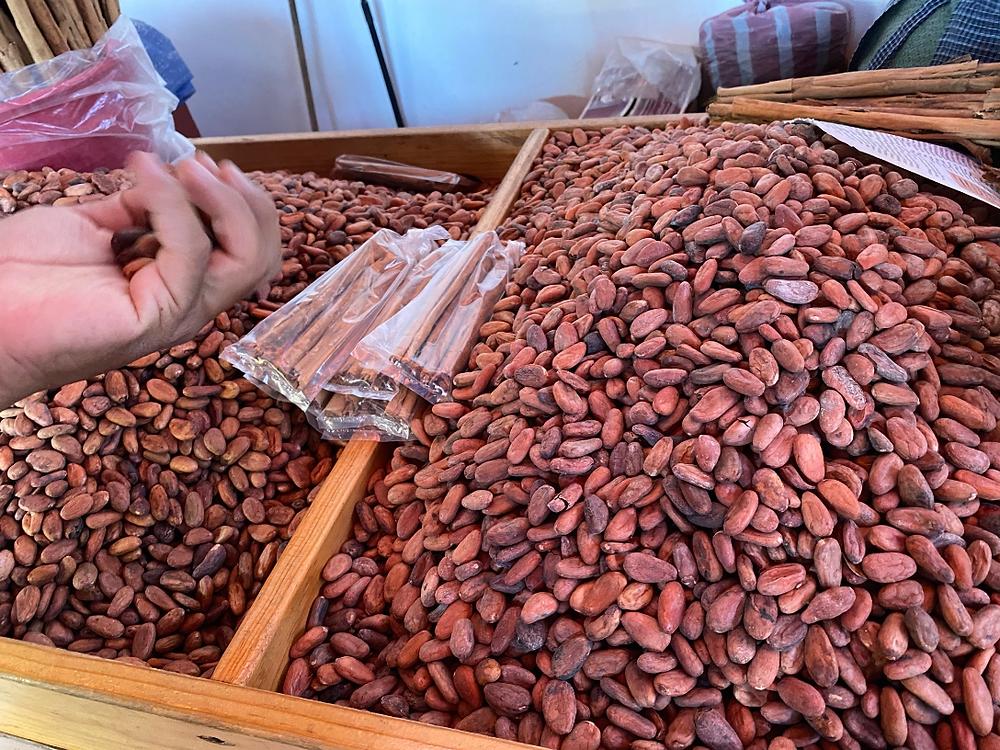 kakavos pupelės turgus meksika