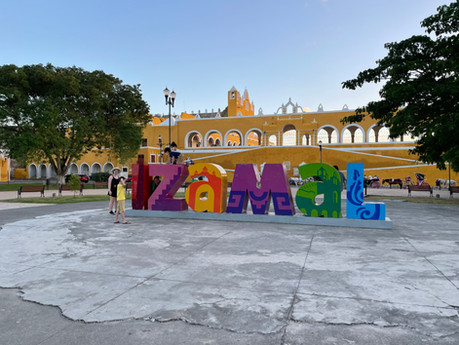 """A magical town Izamal or Zamna- """"Dew that decents from heaven"""""""