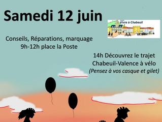 Fête du Vélo Samedi 12 Juin 2021