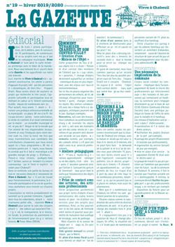 gazette N°19 Hiver 2020