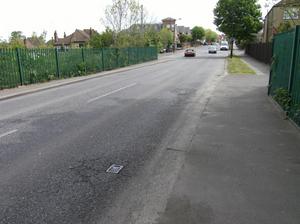 Green Dragon Lane, before