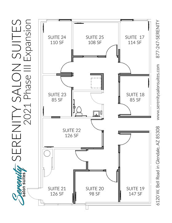 Serenity Salon Suites Phase III