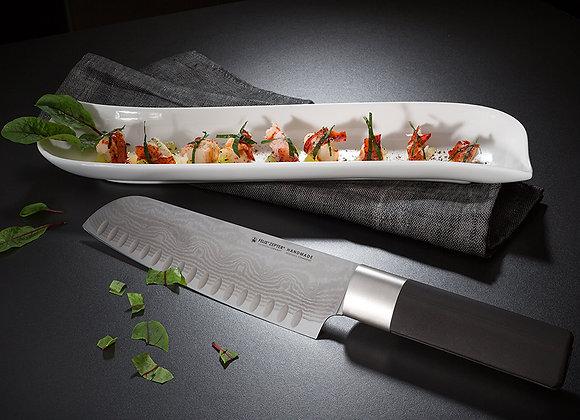 SANTOKU KNIFE, WITH HOLLOW EDGE