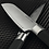 Thumbnail: SANTOKU KNIFE, WITH HOLLOW EDGE