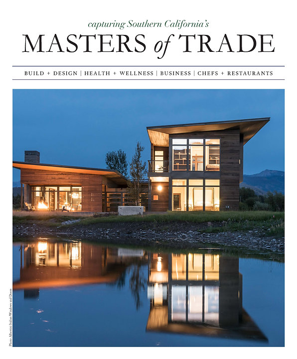Wood only windows and doors for bask magazine feature Masters of Trade