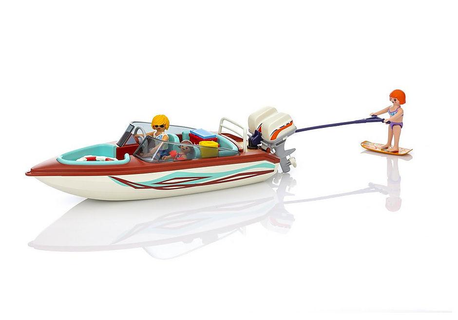 Playmobil Speedboat with Skier