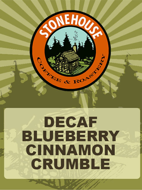 Decaf Blueberry Cinnamon Crumble