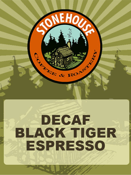 Decaf Black Tiger Espresso
