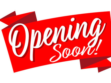 Opening May 1st!