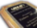 Plaque Award
