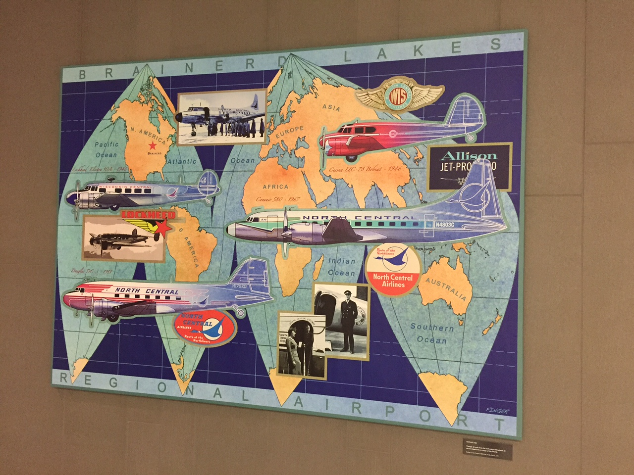 Airport Large Map