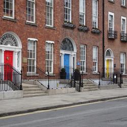 Dublin Row of Houses