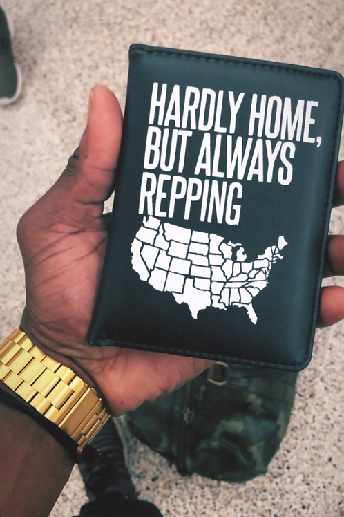 Hardly Home Passport Cover