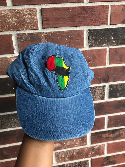 African America - Denim Hat