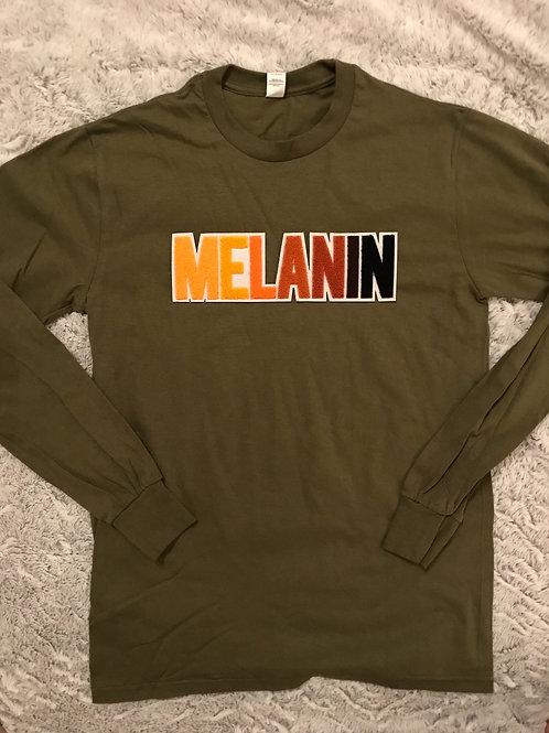Melanin Patch-  Long Sleeve Tee