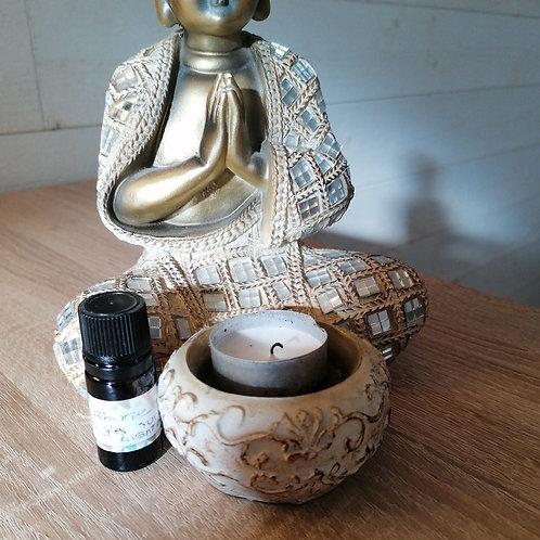 Fiole d'huiles essentielles rhume
