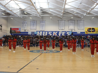 Fun, Games, and Performances at the 2019 Spring Pep Rally