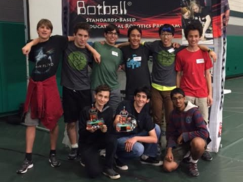 Botball Team Wins Second Place in Competition