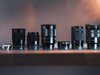 The Different Types of Camera Lenses