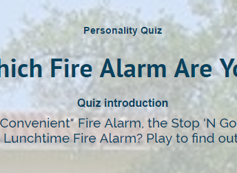 Which Fire Alarm Are You?