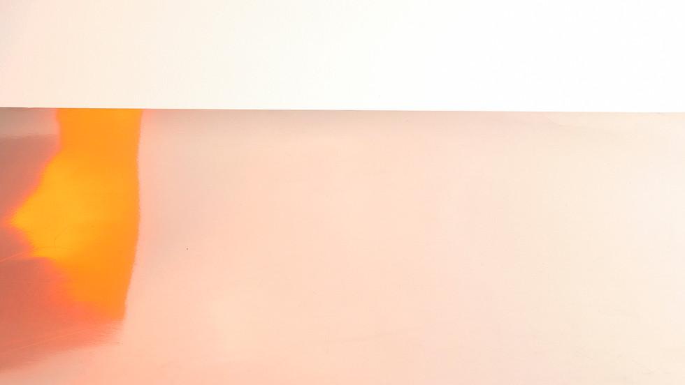 Abstract orange light