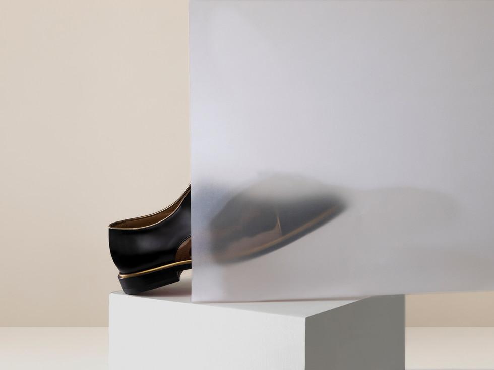 Chaussure Louboutin Pony Gold