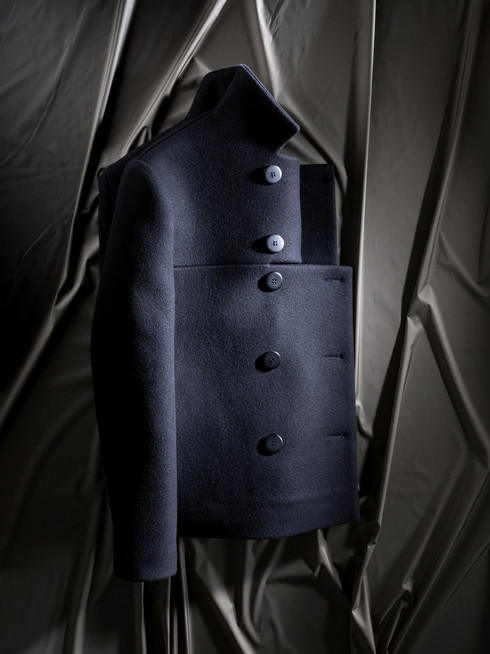 Heavy Wool Jacket on pleats