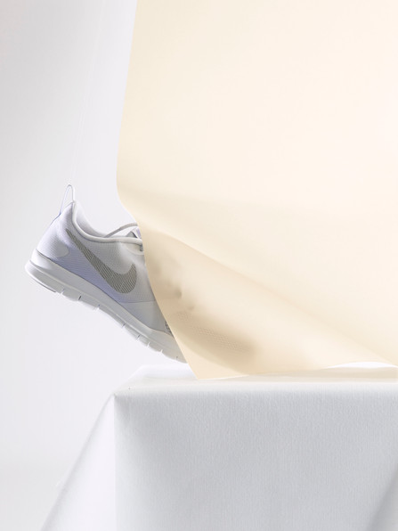 Nike sneaker playing with Pastels