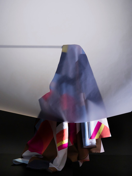 Skirt Behind Tracing Paper