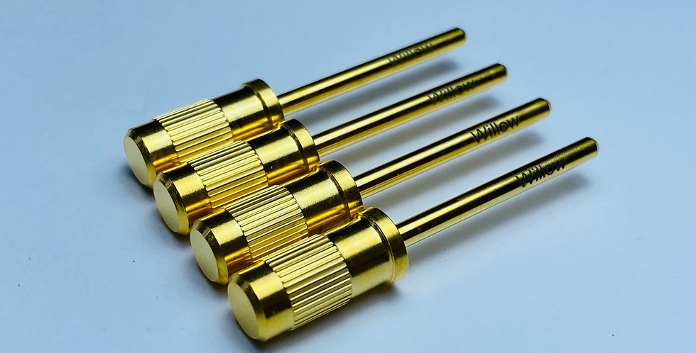 Carbide Mandrel - Gold
