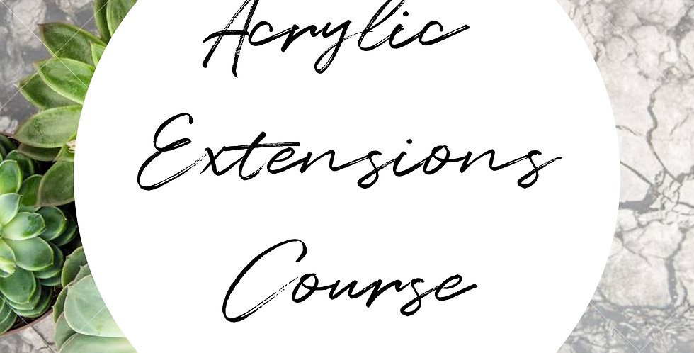 Acrylic Extensions Course