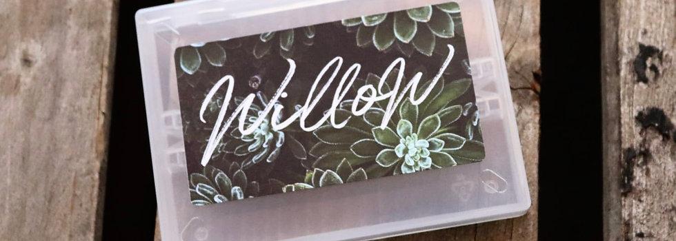 Willow Bit Box (Box Only)