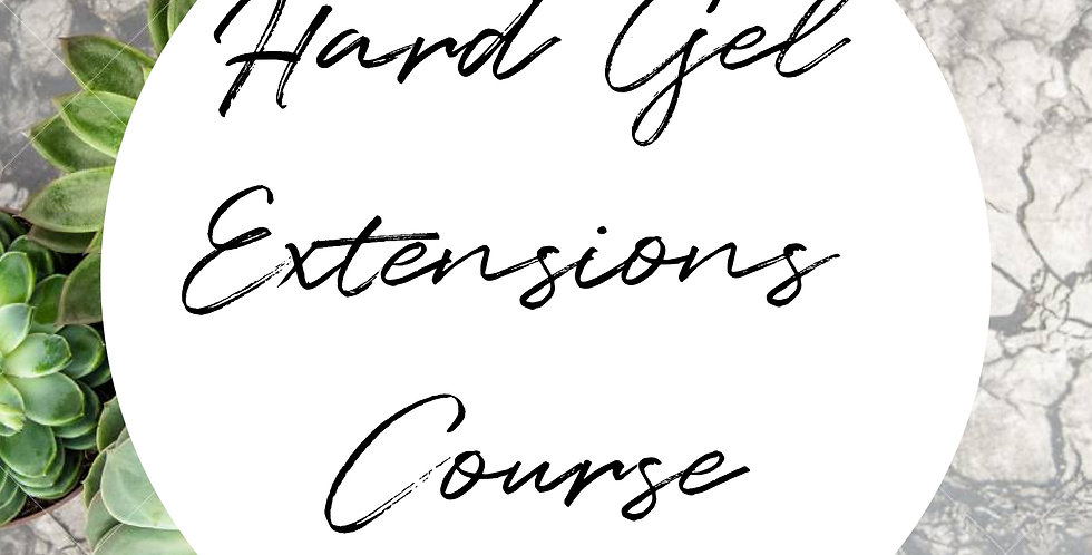 Hard Gel Extensions Course