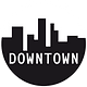 logo Downtown rond cercle blanc.png