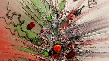 Painting with Mix Media Technics - Autum