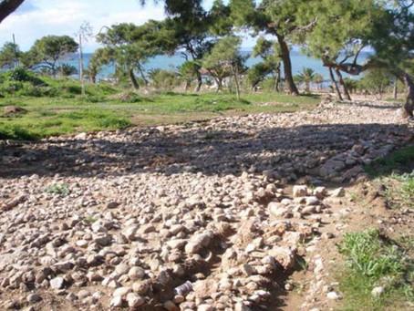 Αρχαία αμαξητή οδός στο Καβούρι