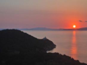 Yoga on Silver Island ~ Evia ~ Greece