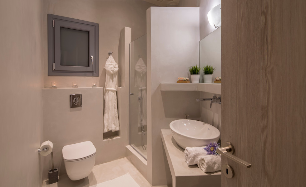 Icon of Aegean feel fresh at this bathro
