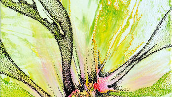 Painting with Mix Media Technics - Sprin