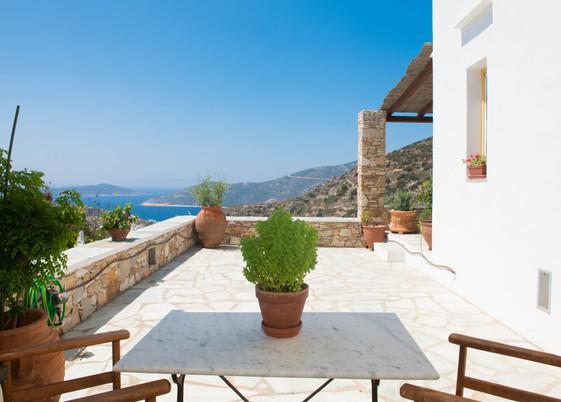 The Yellow Villa patio