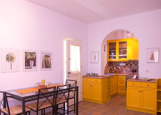 The Yellow Villa Kitchen