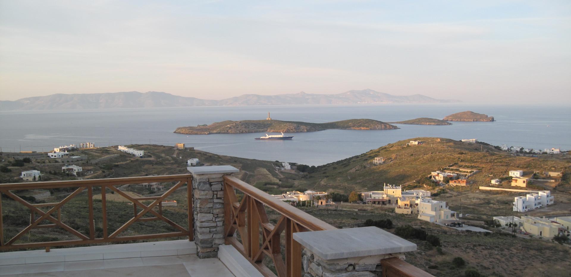 Syros Luxury        Living        Verand