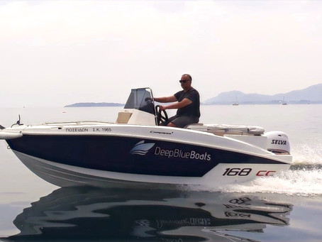 Explore the coast of Corfu with a private motorboat