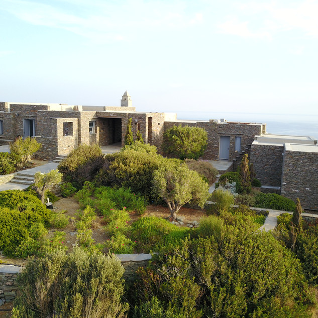 Grey villas