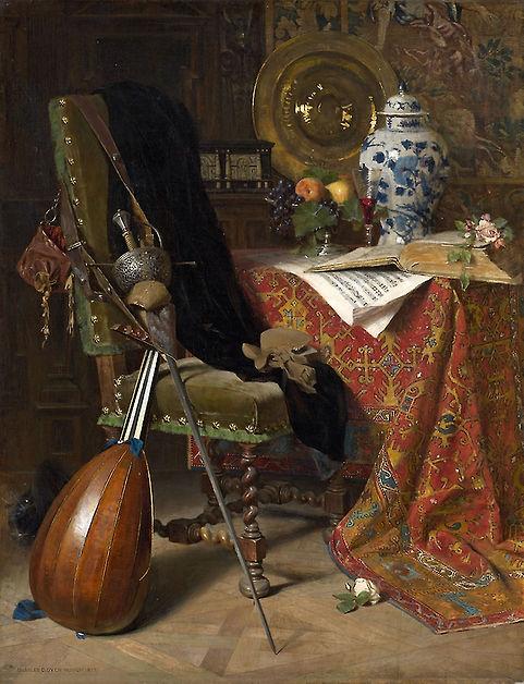 Dyer-Seventeenth Century Interior.jpg